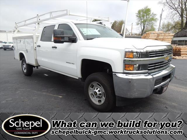2016 Silverado 2500 Crew Cab 4x4, Royal Service Body #110398 - photo 1