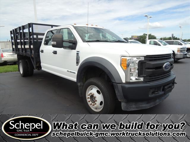 2017 F-550 Crew Cab DRW 4x4, Stake Bed #110446 - photo 1