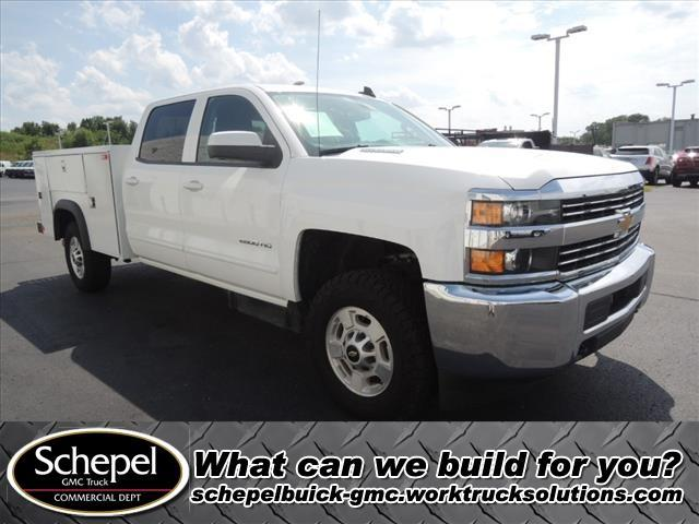 2015 Silverado 2500 Crew Cab 4x4, Monroe Service Body #110669 - photo 1