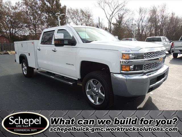 2019 Silverado 2500 Crew Cab 4x2, Monroe Service Body #110871 - photo 1