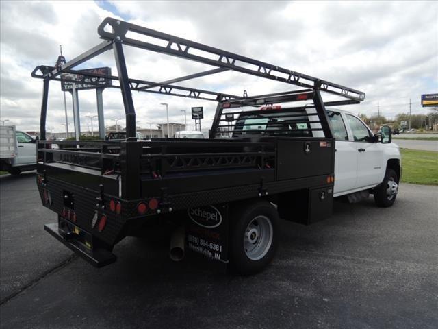 2019 Chevrolet Silverado 3500 Crew Cab 4x4, Freedom Contractor Body #110876 - photo 1