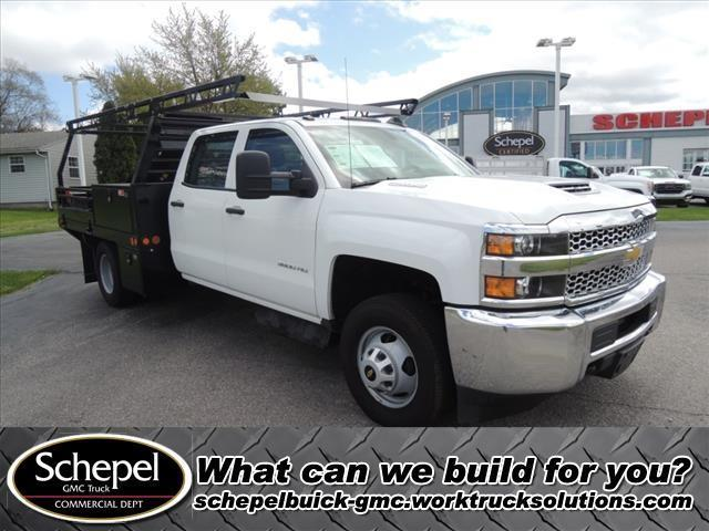 2019 Chevrolet Silverado 3500 Crew Cab DRW 4x4, Freedom Contractor Body #110876 - photo 1
