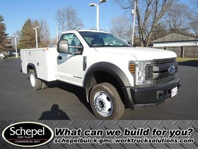 2019 Ford F-550 Regular Cab DRW 4x2, Monroe MSS II Service Body #111417 - photo 1