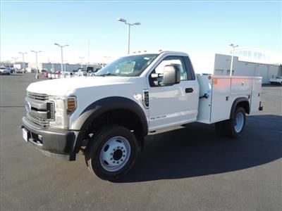2019 Ford F-550 Regular Cab DRW 4x2, Monroe MSS II Service Body #111417 - photo 4