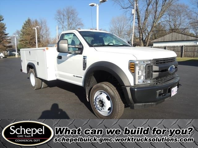 2019 Ford F-550 Regular Cab DRW 4x2, Monroe Service Body #111418 - photo 1