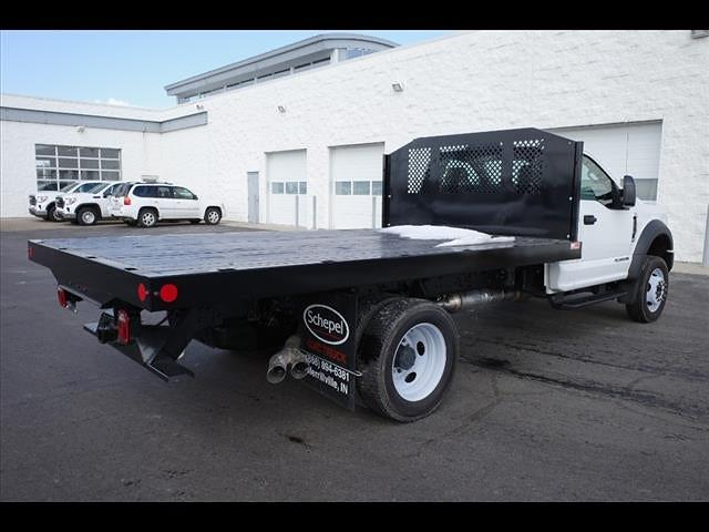 2019 Ford F-550 Regular Cab DRW 4x2, Monroe Work-A-Hauler II Platform Body #111419 - photo 2