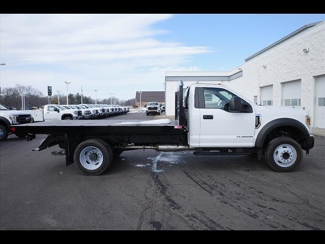 2019 Ford F-550 Regular Cab DRW 4x2, Monroe Work-A-Hauler II Platform Body #111419 - photo 8
