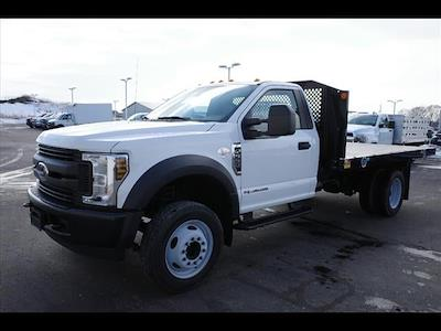 2019 Ford F-550 Regular Cab DRW 4x2, Monroe Work-A-Hauler II Platform Body #111419 - photo 4