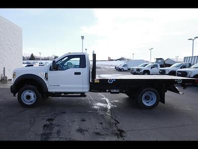 2019 Ford F-550 Regular Cab DRW 4x2, Monroe Work-A-Hauler II Platform Body #111419 - photo 5
