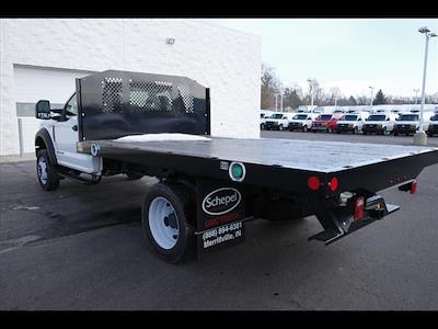 2019 Ford F-550 Regular Cab DRW 4x2, Monroe Work-A-Hauler II Platform Body #111419 - photo 6