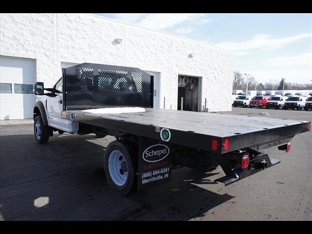 2019 Ford F-550 Regular Cab DRW 4x2, Platform Body #111453 - photo 6