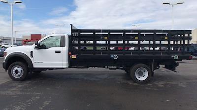 2019 Ford F-550 Regular Cab DRW 4x2, Monroe Versa-Line Platform Body #111570 - photo 6