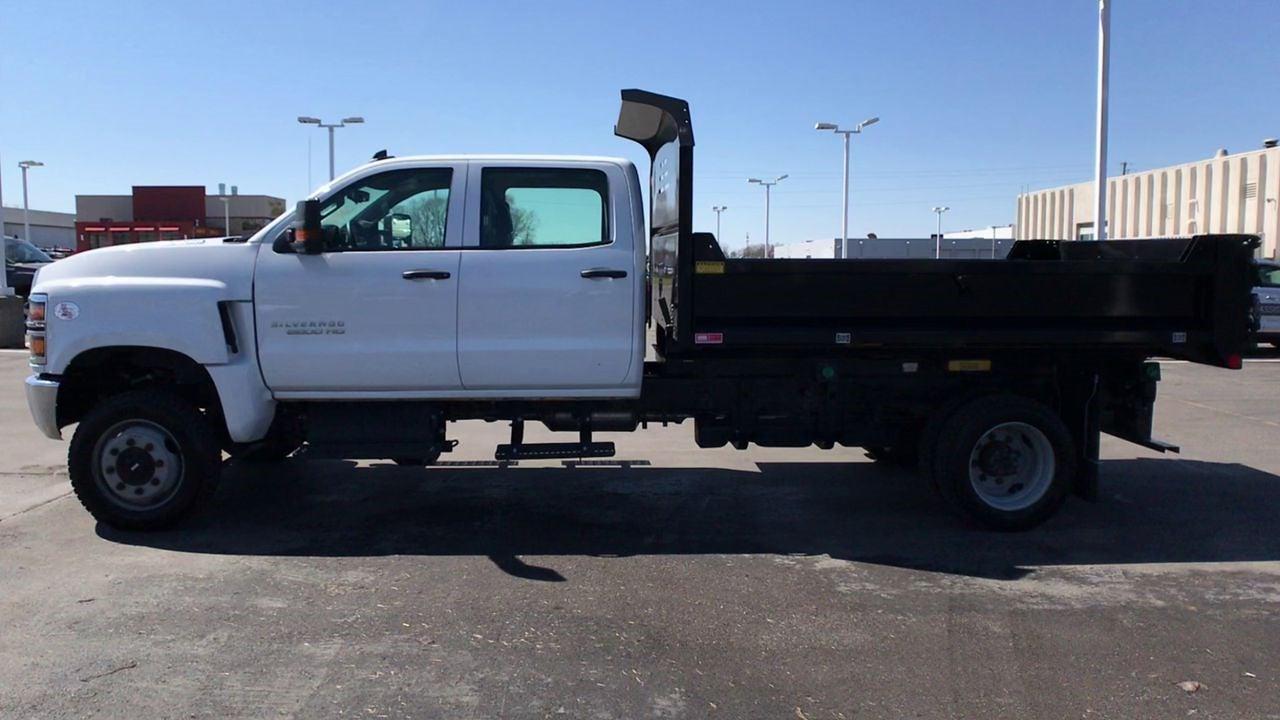 2019 Chevrolet Silverado 5500 Crew Cab DRW 4x4, Monroe MTE-Zee Dump Body #111578 - photo 6