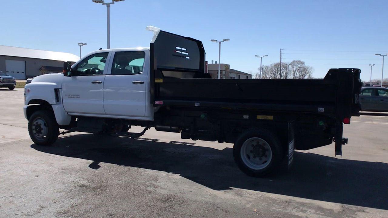 2019 Chevrolet Silverado 5500 Crew Cab DRW 4x4, Monroe MTE-Zee Dump Body #111578 - photo 7