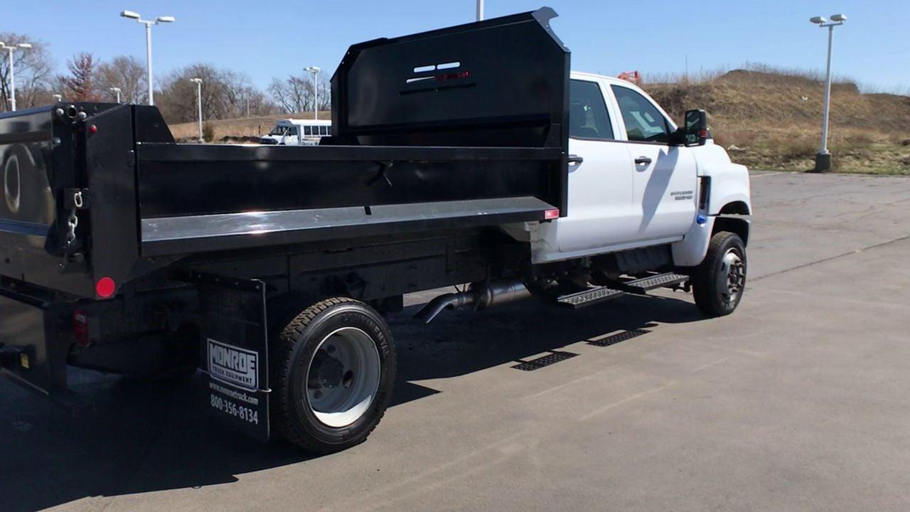 2019 Chevrolet Silverado 5500 Crew Cab DRW 4x4, Monroe Dump Body #111578 - photo 1