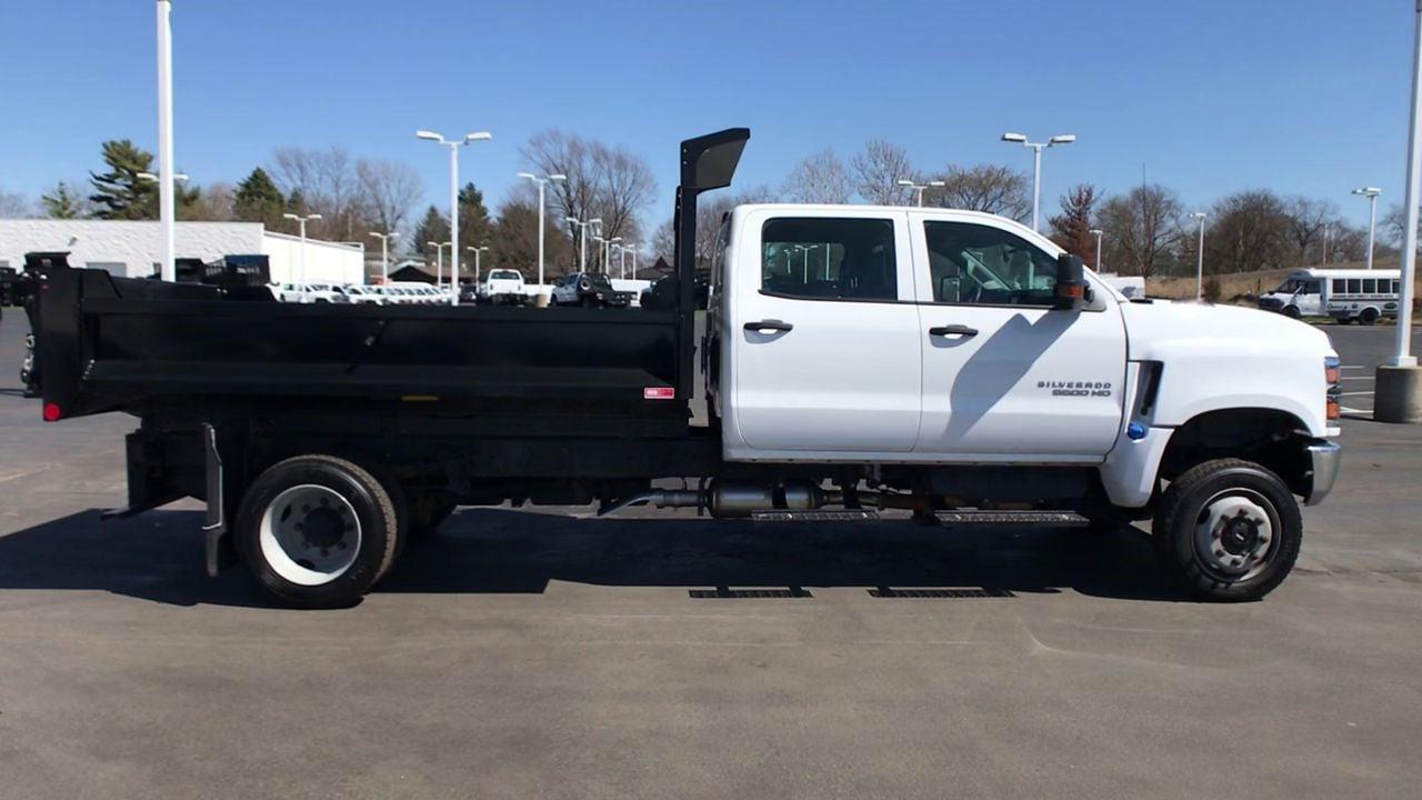 2019 Chevrolet Silverado 5500 Crew Cab DRW 4x4, Monroe MTE-Zee Dump Body #111578 - photo 9