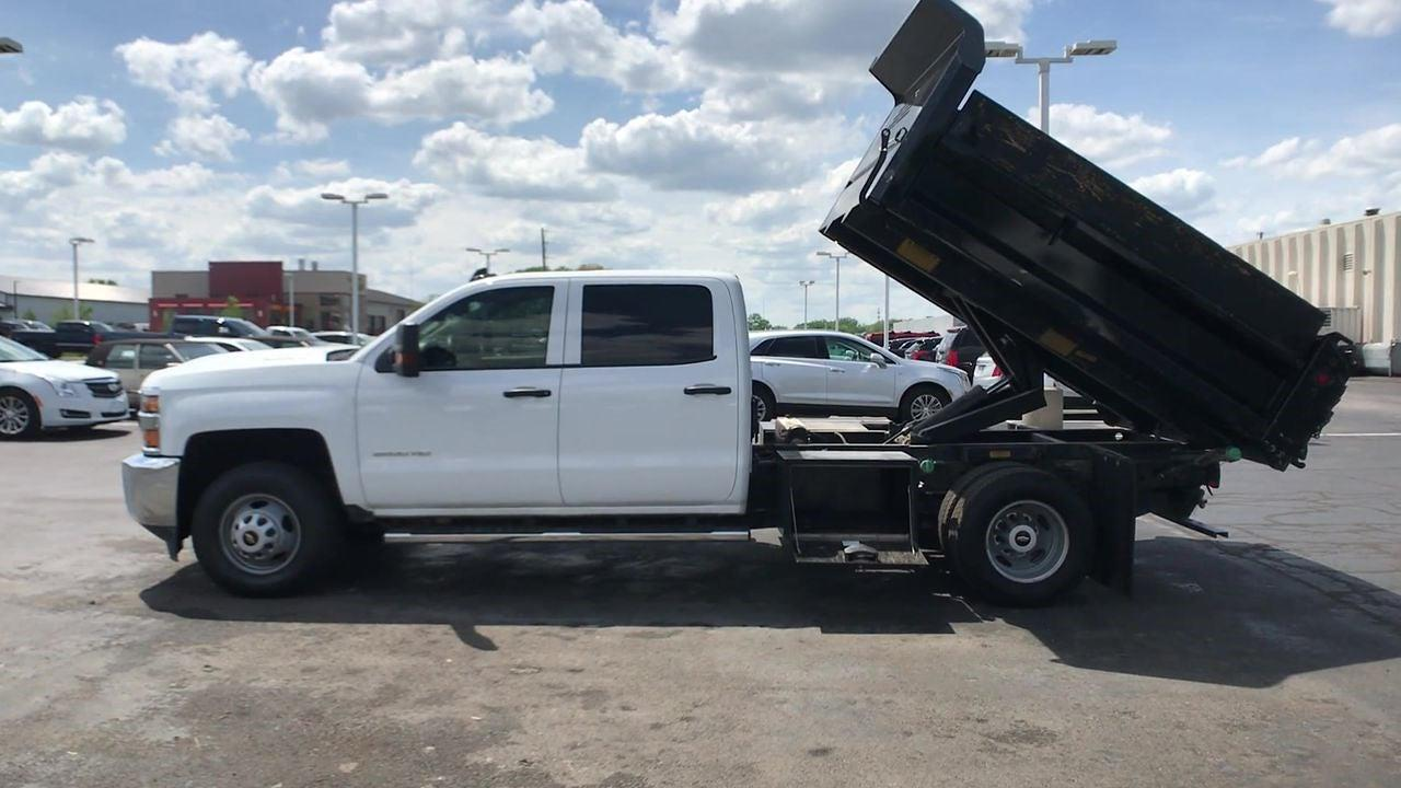 2019 Silverado 3500 Crew Cab DRW 4x4,  Dump Body #111588A - photo 6