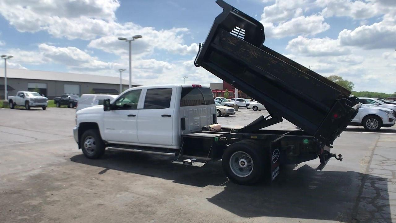 2019 Silverado 3500 Crew Cab DRW 4x4,  Dump Body #111588A - photo 7