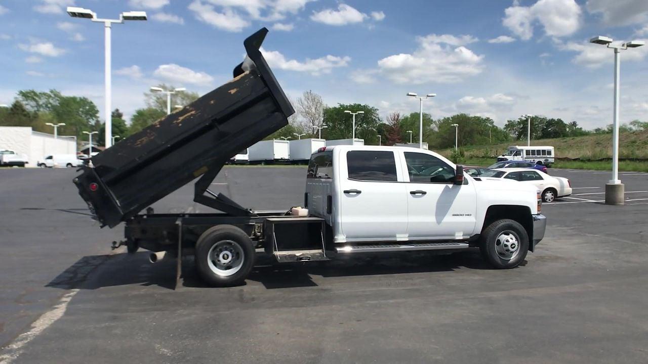 2019 Silverado 3500 Crew Cab DRW 4x4,  Dump Body #111588A - photo 9