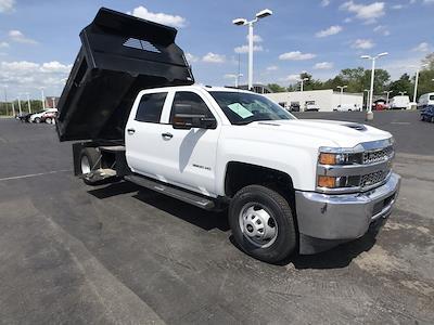 2019 Silverado 3500 Crew Cab DRW 4x4,  Dump Body #111588A - photo 1