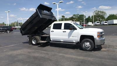2019 Silverado 3500 Crew Cab DRW 4x4,  Dump Body #111588A - photo 3