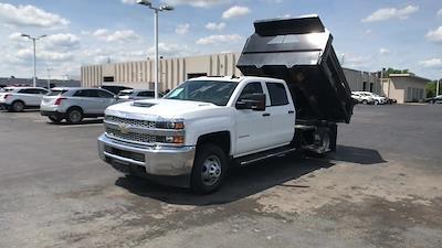 2019 Silverado 3500 Crew Cab DRW 4x4,  Dump Body #111588A - photo 5