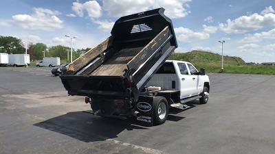 2019 Silverado 3500 Crew Cab DRW 4x4,  Dump Body #111588A - photo 2