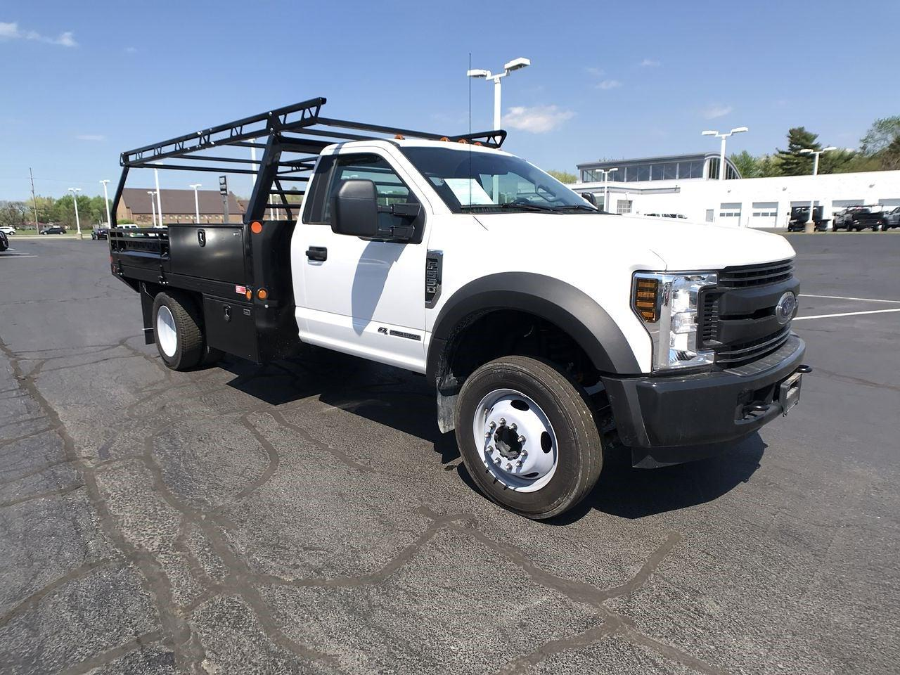 2019 Ford F-550 Regular Cab DRW 4x2, Freedom Contractor Body #111630 - photo 1