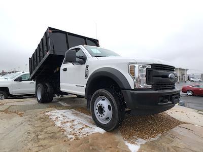 2019 F-550 Regular Cab DRW 4x2,  Monroe Truck Equipment MTE-Zee Landscape Dump #111631 - photo 1