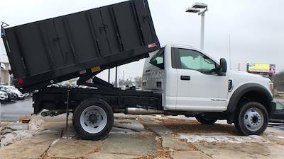 2019 Ford F-550 Regular Cab DRW 4x2, Monroe MTE-Zee Landscape Dump #111631 - photo 3