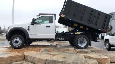 2019 Ford F-550 Regular Cab DRW 4x2, Monroe MTE-Zee Landscape Dump #111631 - photo 6