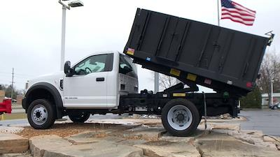 2019 Ford F-550 Regular Cab DRW 4x2, Monroe MTE-Zee Landscape Dump #111631 - photo 7