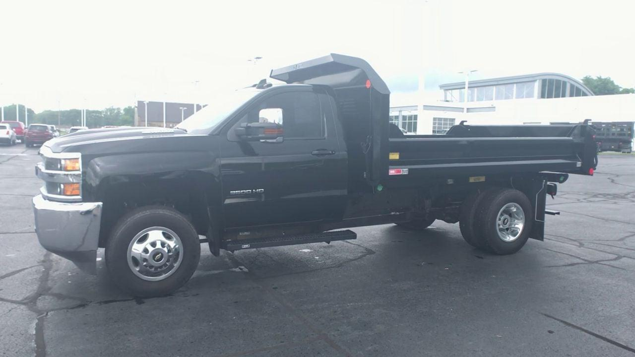 2019 Silverado 3500 Regular Cab DRW 4x4,  Dump Body #111653 - photo 5