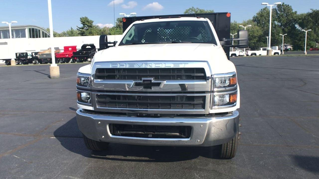 2020 Chevrolet Silverado 4500 Regular Cab DRW 4x2, Monroe Work-A-Hauler II Platform Body #111666 - photo 4