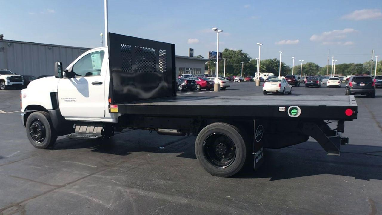 2020 Chevrolet Silverado 4500 Regular Cab DRW 4x2, Monroe Work-A-Hauler II Platform Body #111666 - photo 7