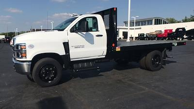2020 Chevrolet Silverado 4500 Regular Cab DRW 4x2, Monroe Work-A-Hauler II Platform Body #111666 - photo 5