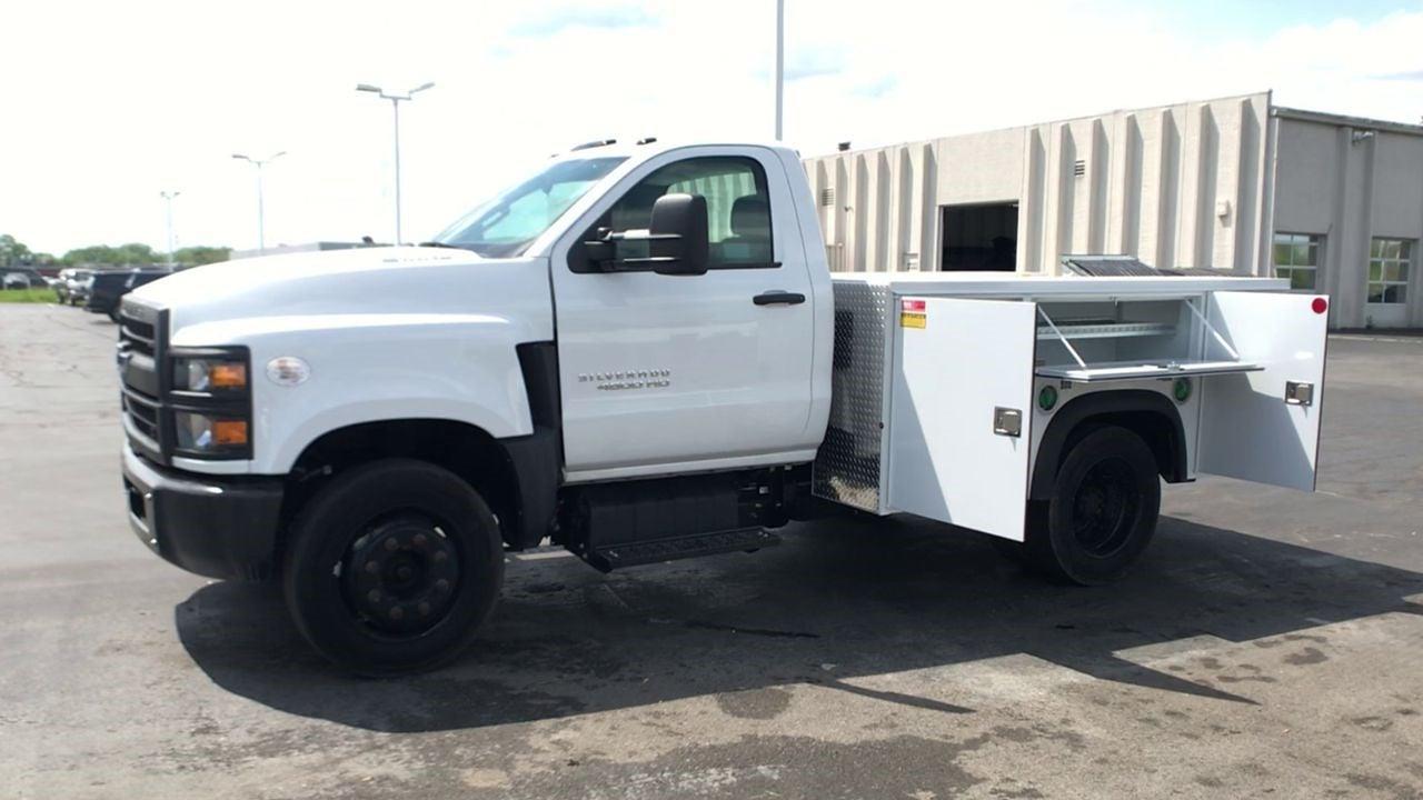 2019 Silverado 4500 Regular Cab DRW 4x2,  Monroe Truck Equipment MSS II Service Body #111667 - photo 5