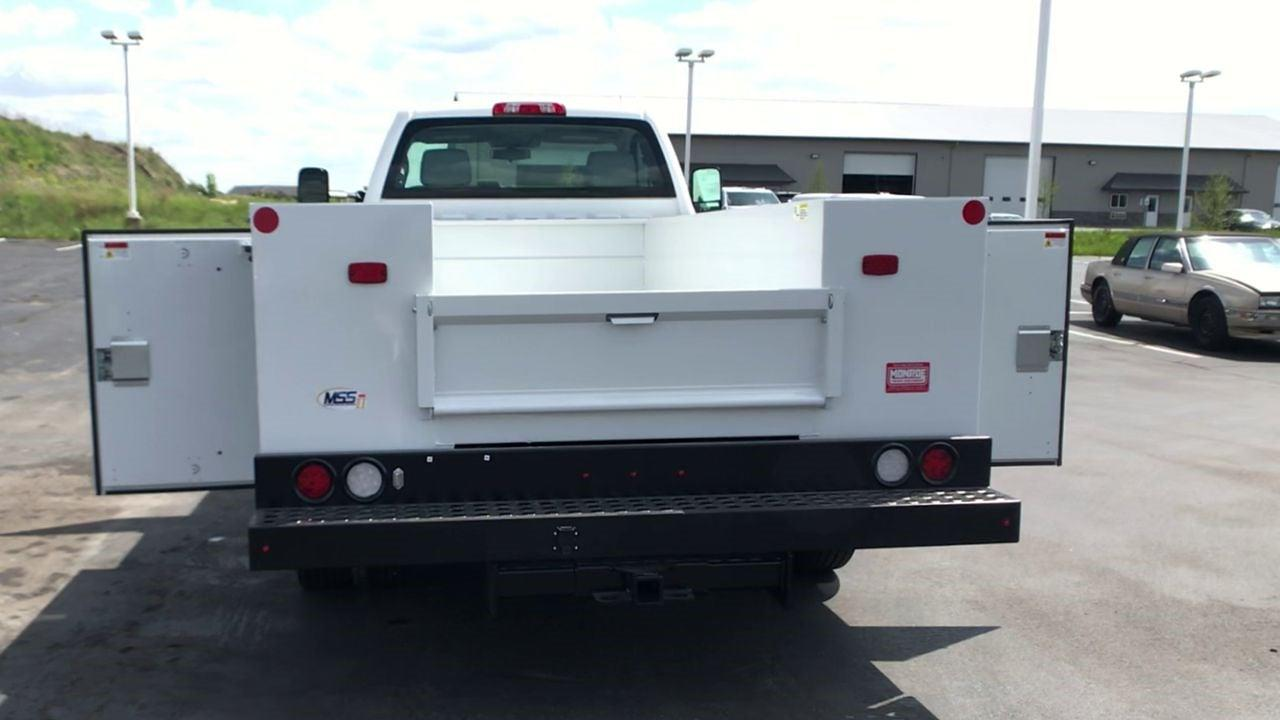 2019 Silverado 4500 Regular Cab DRW 4x2,  Monroe Truck Equipment MSS II Service Body #111667 - photo 8
