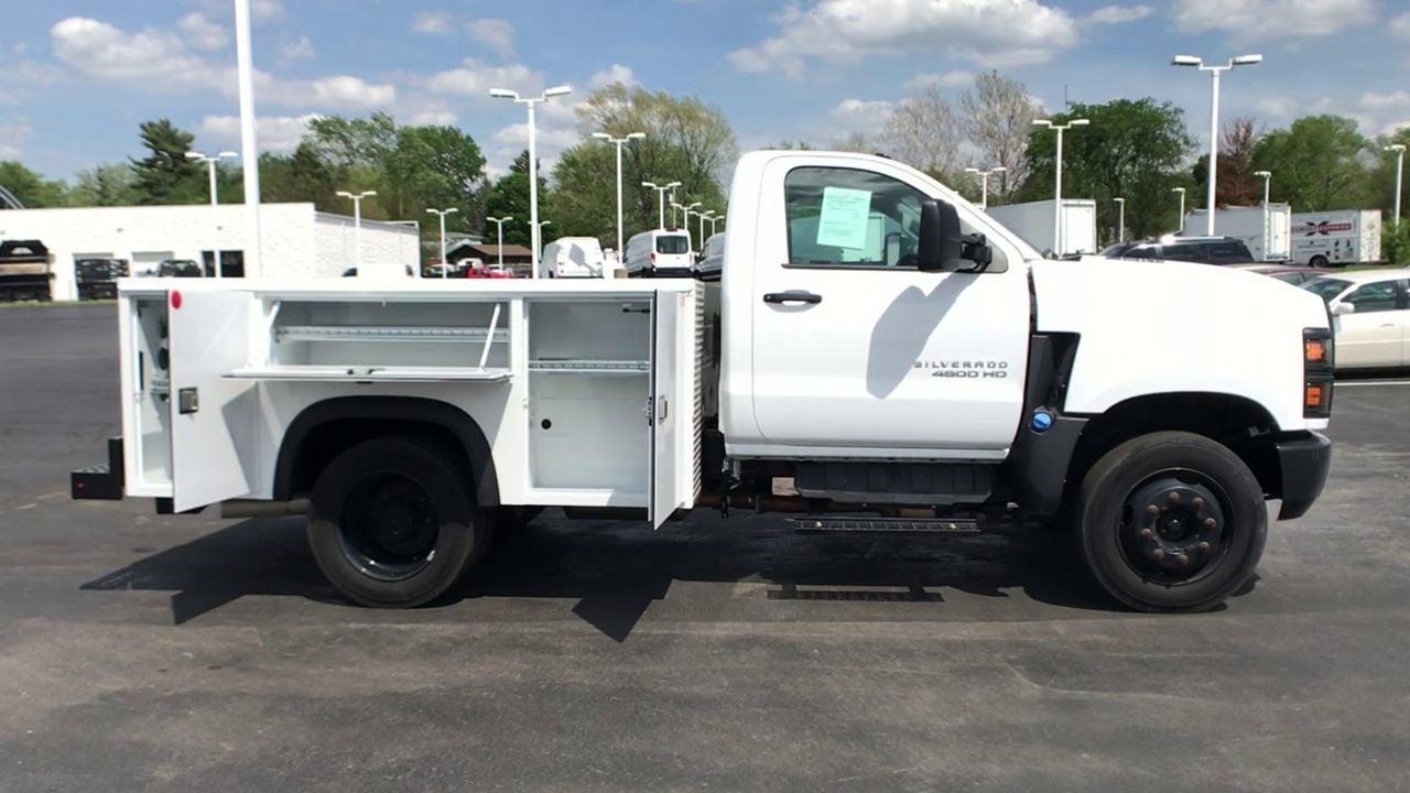 2019 Silverado 4500 Regular Cab DRW 4x2,  Monroe Truck Equipment MSS II Service Body #111667 - photo 9