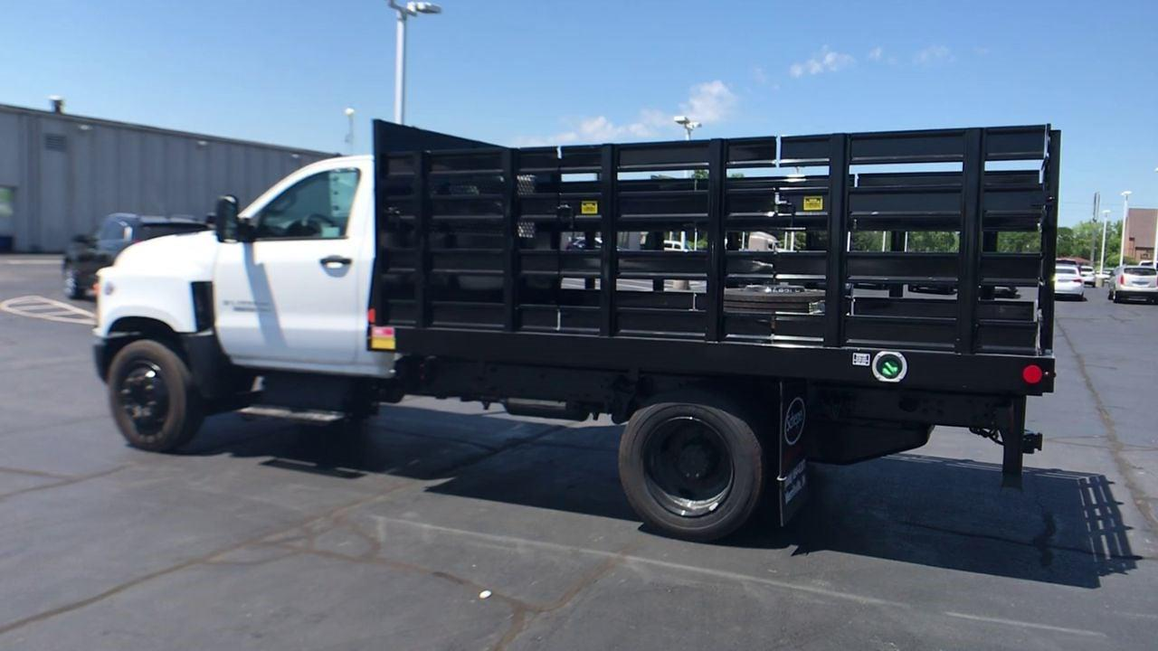 2020 Silverado 5500 Regular Cab DRW 4x2,  Monroe Truck Equipment AL Series Platform Body #111699 - photo 7