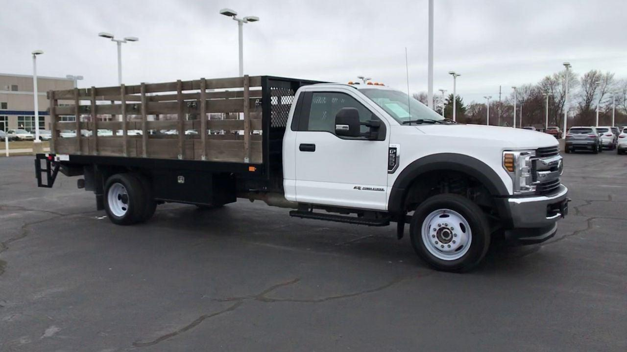 2019 Ford F-550 Regular Cab DRW 4x2, Stake Bed #111702 - photo 3