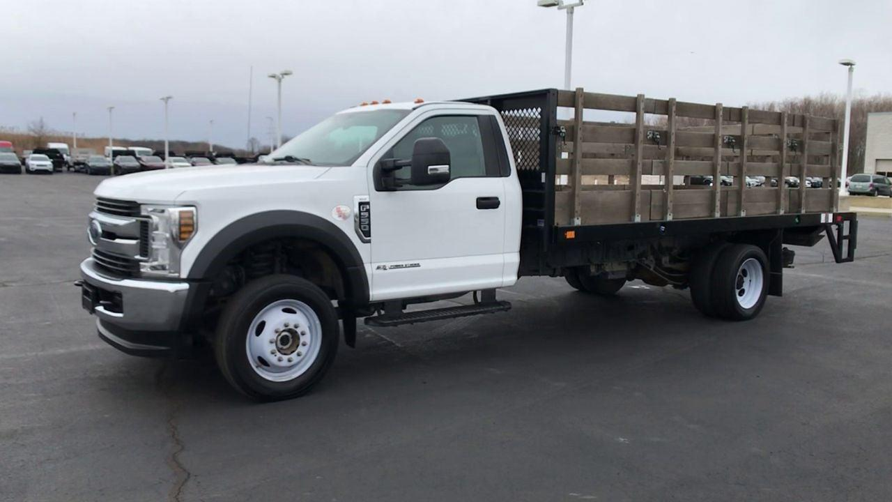 2019 Ford F-550 Regular Cab DRW 4x2, Stake Bed #111702 - photo 5