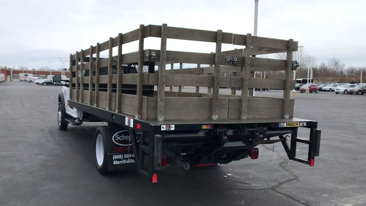 2019 Ford F-550 Regular Cab DRW 4x2, Stake Bed #111702 - photo 8