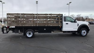 2019 Ford F-550 Regular Cab DRW 4x2, Stake Bed #111702 - photo 9