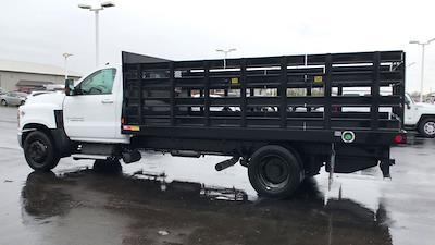 2019 Chevrolet Silverado 4500 Regular Cab DRW 4x2, Monroe Work-A-Hauler II Stake Bed #111715 - photo 7