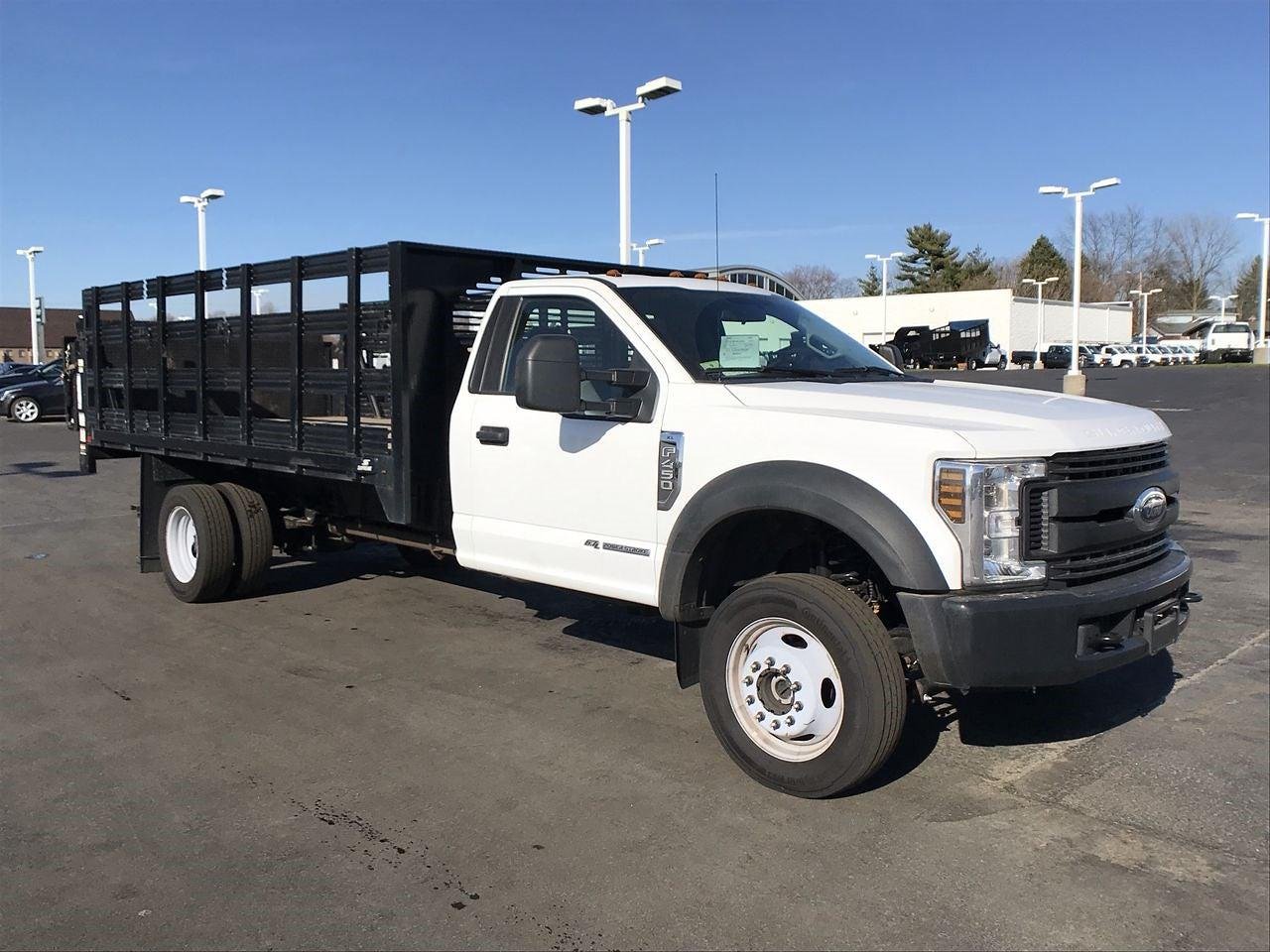 2019 Ford F-450 Regular Cab DRW 4x4, Stake Bed #111742 - photo 1
