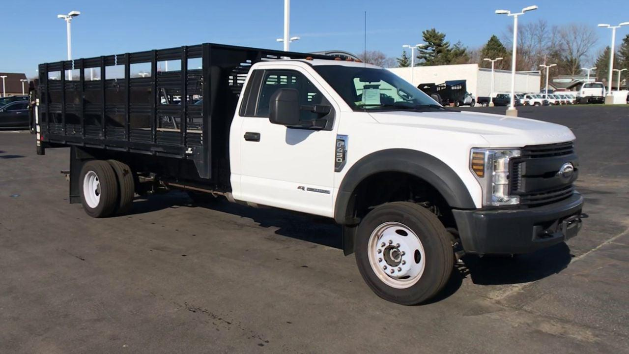 2019 Ford F-450 Regular Cab DRW 4x4, Stake Bed #111742 - photo 3