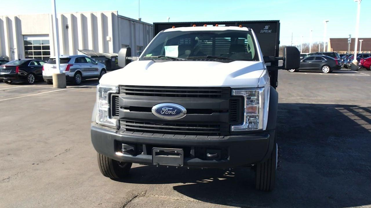 2019 Ford F-450 Regular Cab DRW 4x4, Stake Bed #111742 - photo 4