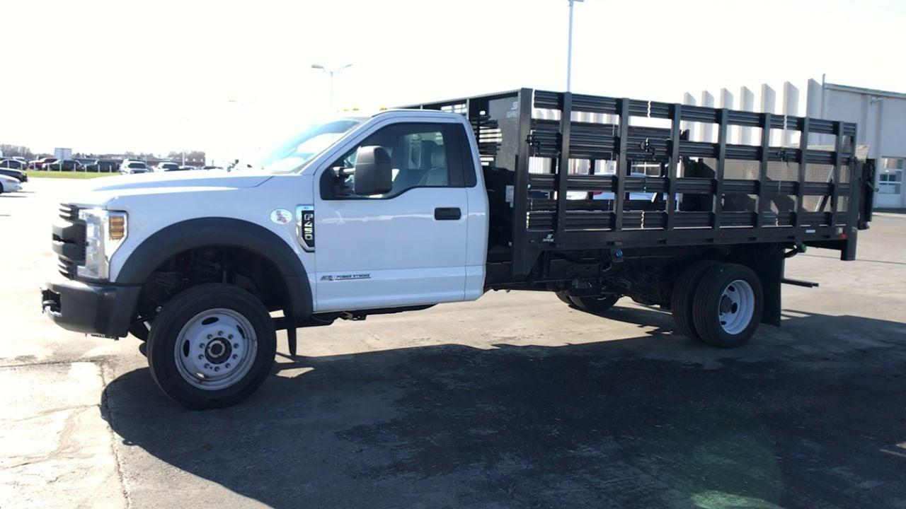 2019 Ford F-450 Regular Cab DRW 4x4, Stake Bed #111742 - photo 5