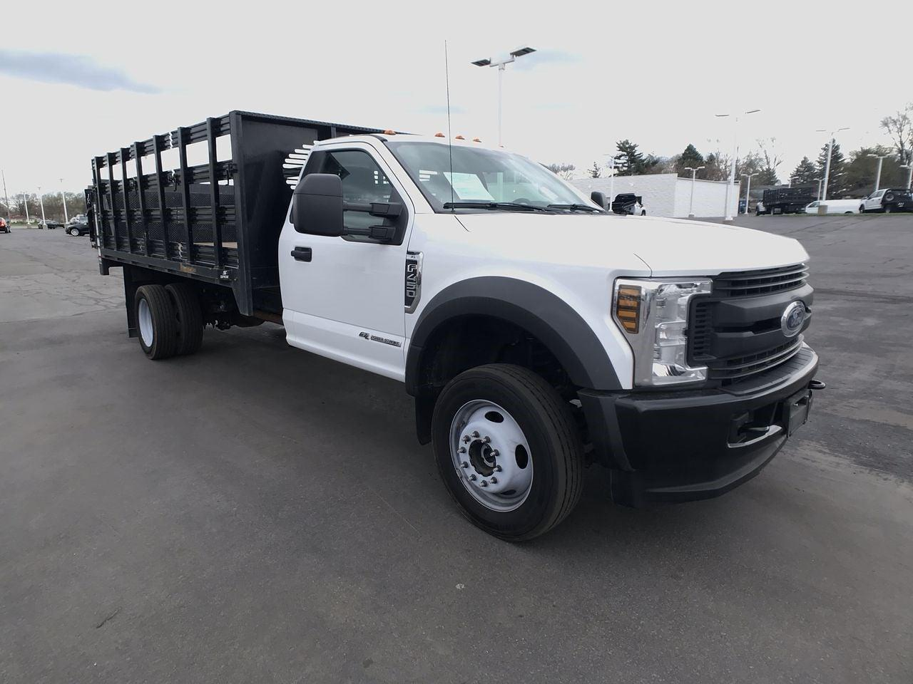 2019 Ford F-450 Regular Cab DRW 4x4, Stake Bed #111746 - photo 1